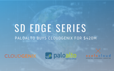 SD Edge Series – Palo Alto buys CloudGenix for $420M